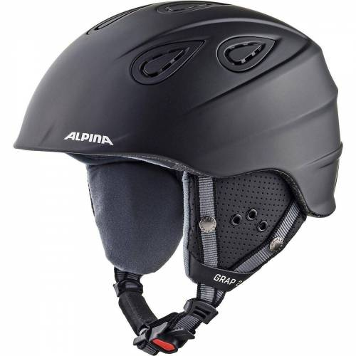 Alpina Sports Skihelm »Skihelm Grap 2.0 black matt«