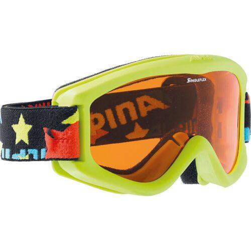 Alpina Sports Skibrille »Skibrille Carvy, lime«