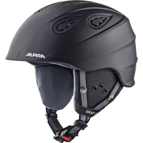 Alpina Sports Skihelm »Skihelm Grap 2.0 black matt«