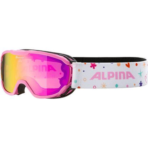 Alpina Sports Skibrille »Skibrille Pheos rose-rose«