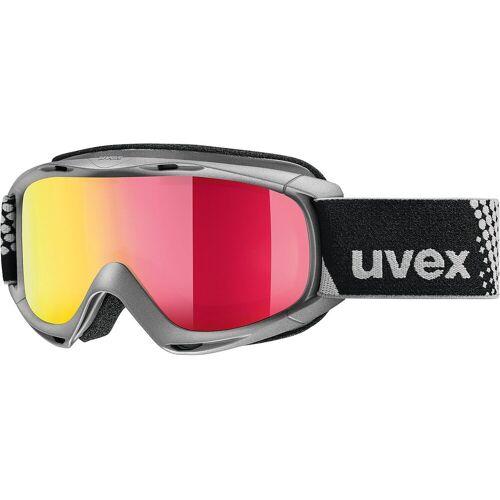 Uvex Skibrille »Skibrille slider FM, pink dl/gold-rose«, grau
