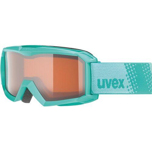 Uvex Skibrille »Skibrille Flizz LG Black Mat«, mint