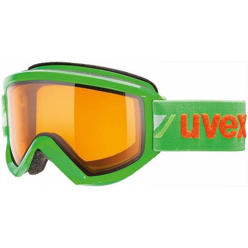 Uvex Skibrille »Skibrille fire race green dl/lgl«