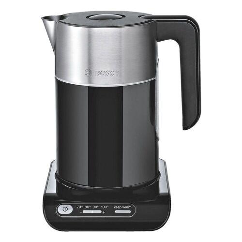 Bosch Wasserkocher Styline TWK8613P, 1.5 l, 2400 W, mit variabel einstellbarer Temperatur