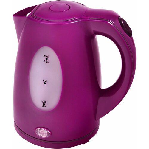Efbe-Schott Wasserkocher SCWK5010, 1,5 l, 2200 W, lila