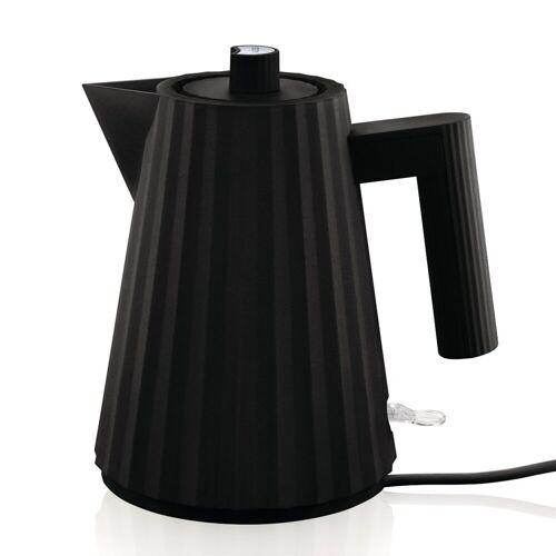 Alessi Wasserkocher Wasserkocher Plissé 1l, schwarz