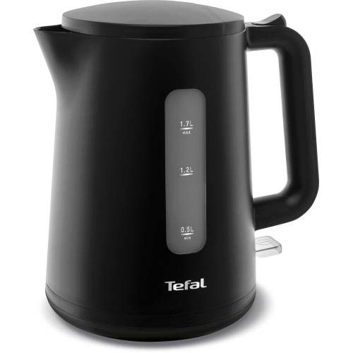 Tefal Wasserkocher KO2008 Element Black, 1,7 l, 2400 W