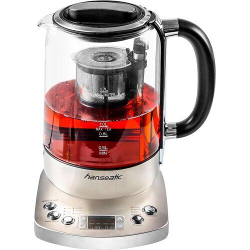 Hanseatic Wasser-/Teekocher 97797956, 2200 W, 1,7 L, digitale Temperaturanzeige, wählbare Brühtemperatur