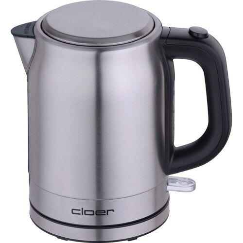 Cloer Wasserkocher 4519 Wasserkocher Edelstahl matt 1 Liter