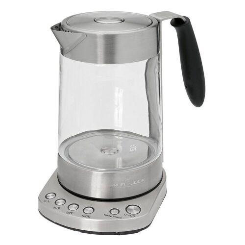 ProfiCook Wasserkocher PC-WKS 1020 G Glas Tee-
