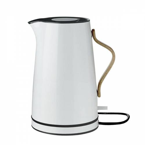 Stelton Wasserkocher Wasserkocher EMMA - blau-weiß 1.2 l, 1.20 l