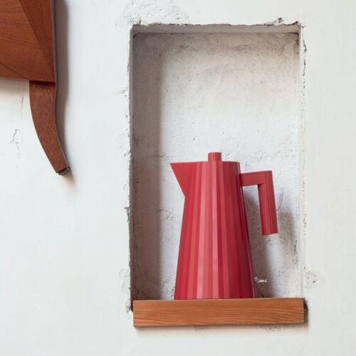 Alessi Wasserkocher Wasserkocher Plissé 1.7 L - Farbwahl, 1.70 l, Rot