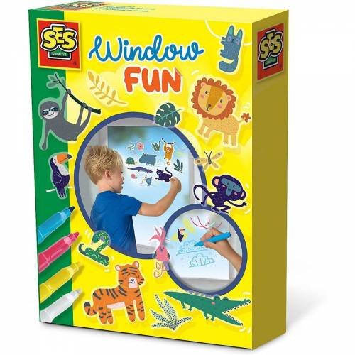 Creative SES Creative Fenstersticker »Fensterbilder - Jungle«,