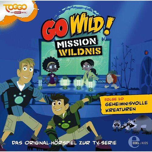 Edel Hörspiel »CD Go Wild 10 - Geheimnissvolle Kreaturen«