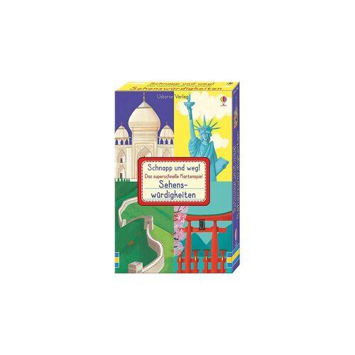 Usborne Verlag Spiel, »Schnapp und weg! - Das superschnelle Kartenspiel:«