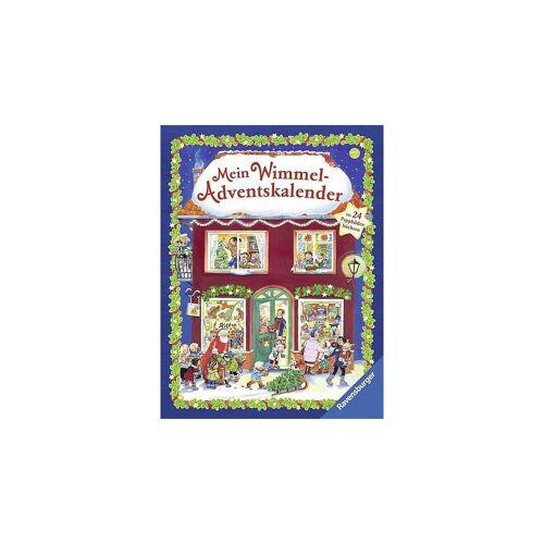Ravensburger Wandkalender »Mein Wimmel-Adventskalender«