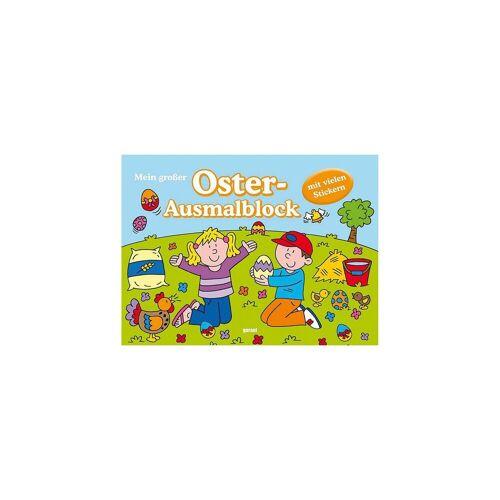 Oster-Ausmalblock