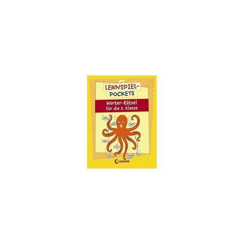 Loewe Verlag Lernspiel-Pockets: Wörter-Rätsel für die 2. Klasse