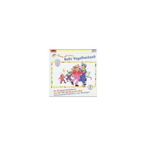 CD Rolfs Vogelhochzeit, 'Sing mit uns', 1 CD-Audio
