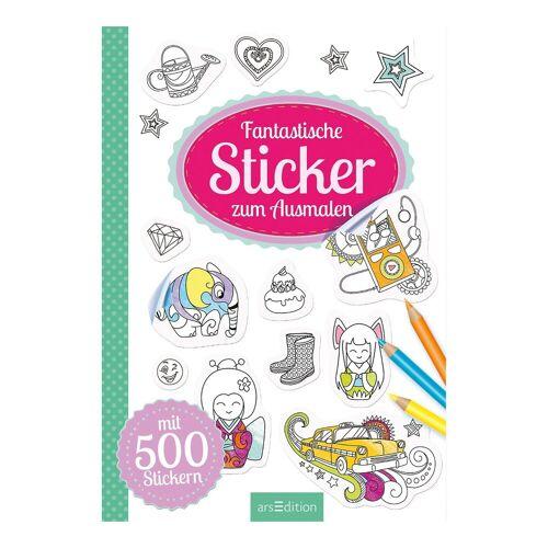 arsEdition Verlag Fantastische Sticker zum Ausmalen