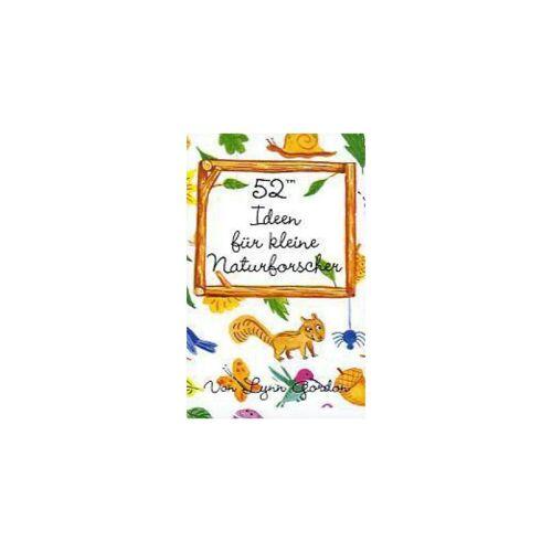 Kunstmann Verlag 52 Ideen für kleine Naturforscher