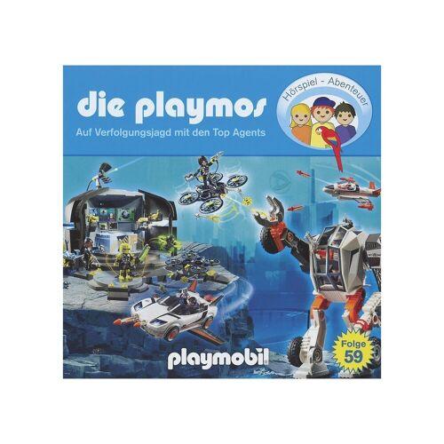 Edel CD Playmos 59 - Auf Verfolgungsjagd mit den Top Agents