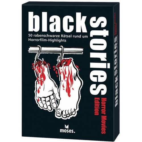 moses Spiel, Kartenspiel »Black Stories - Horror Movies Edition«