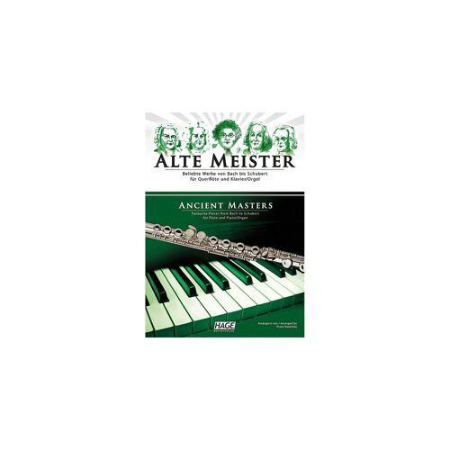 Alte Meister, für Querflöte und Klavier/Orgel, Querflötensti