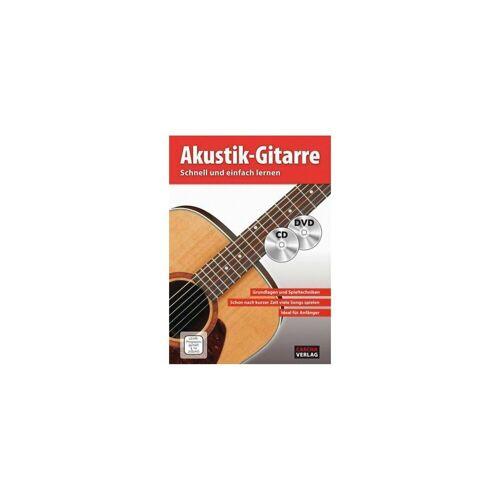 Akustik Gitarre, mit Audio-CD und DVD