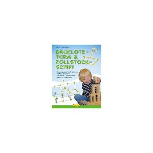 Ökotopia Verlag Bauklotz-Turm & Zollstock-Schiff