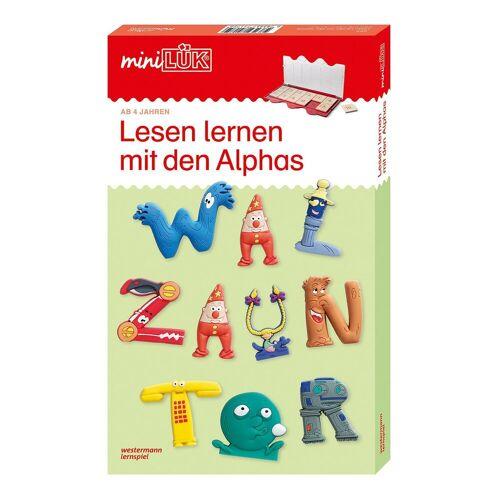 Westermann Verlag mini LÜK: Lesen lernen mit den Alphas 1+2, mit mini LÜK Kont