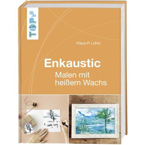 """Topp Buch """"Enkaustic - Malen mit heißem Wachs"""" 160 Seiten"""