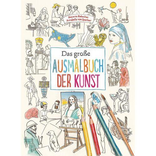 Prestel Verlag Das große Ausmalbuch der Kunst