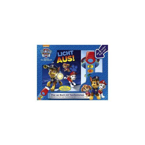PAW Patrol: Licht aus! Pop-up-Buch mit Taschenlampe