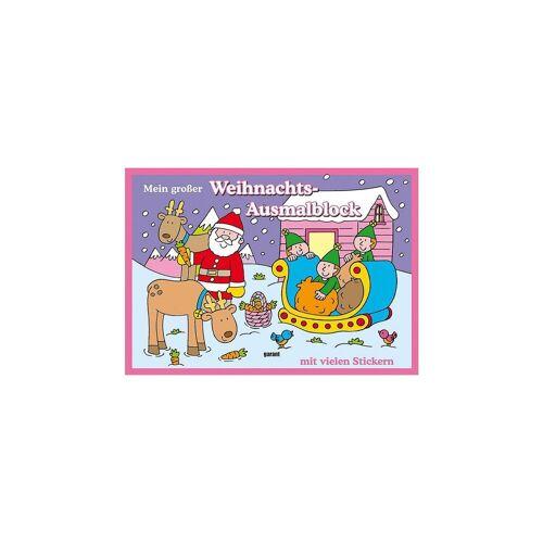 Mein großer Weihnachts-Ausmalblock