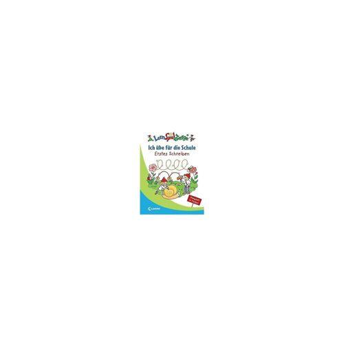 Loewe Verlag LernSpielZwerge: Ich übe für die Schule - Erstes Schreiben