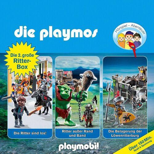 Edel Hörspiel »CD Die Playmos Hörspiel-Box Ritter 2«