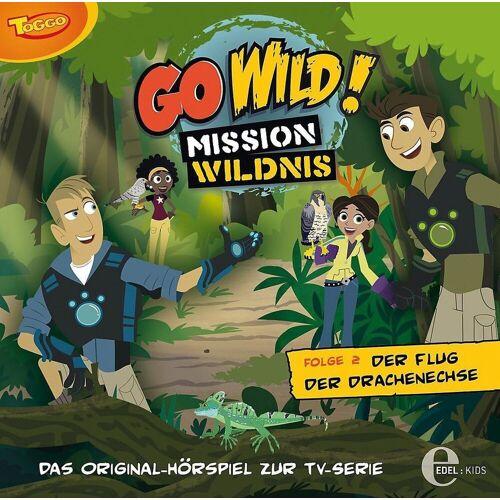 Edel Hörspiel »CD Go Wild 02 - Der Flug der Drachenechse«