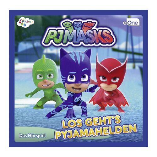 PJ Masks Hörspiel »CD - Los gehts Pyjamahelden 1«