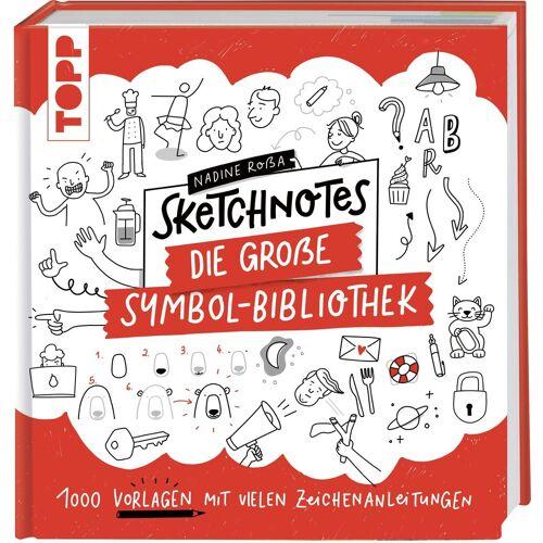 """TOPP Kreativ Buch """"Sketchnotes. Die große Symbol-Bibliothek"""" 160 Seiten"""