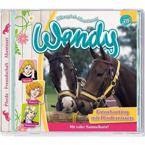 Kiddinx Hörspiel »CD Wendy - Fotoshooting mit Hindernissen«