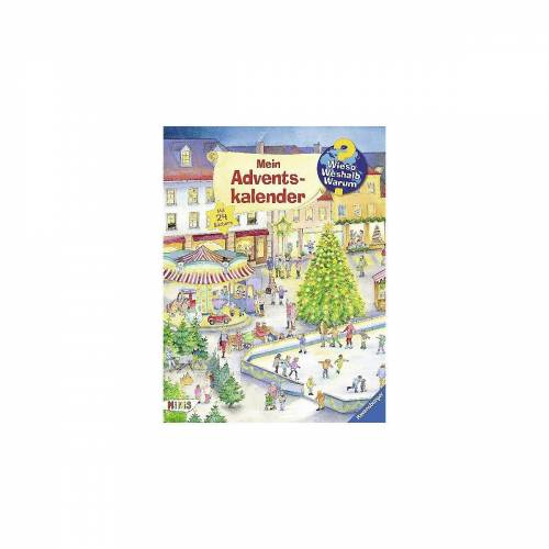 Ravensburger Wandkalender »WWW Mein Adventskalender«