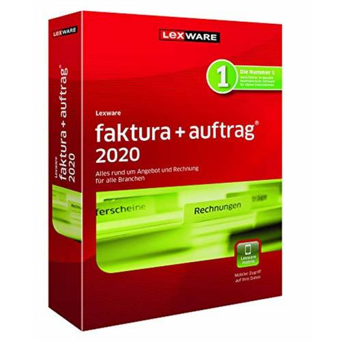 Lexware faktura+auftrag 2020 Jahresversion (365-Tage) »einfaches Rechnungsprogramm von «, rot