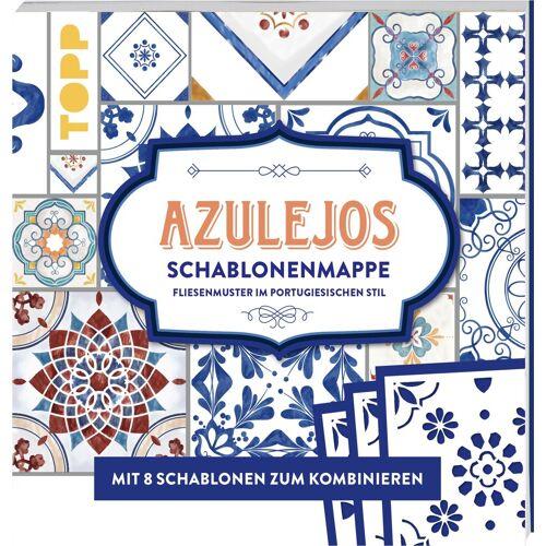 Topp Malvorlage »Azulejos«, 16 Seiten