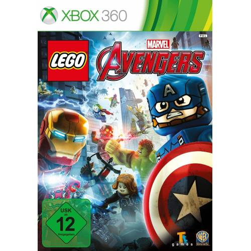 Warner Games Lego Marvel Avengers Xbox 360, Software Pyramide