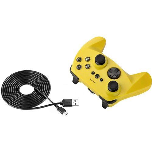 Borussia Dortmund »BVB PC Controller Pro« Tastatur, schwarz/gelb