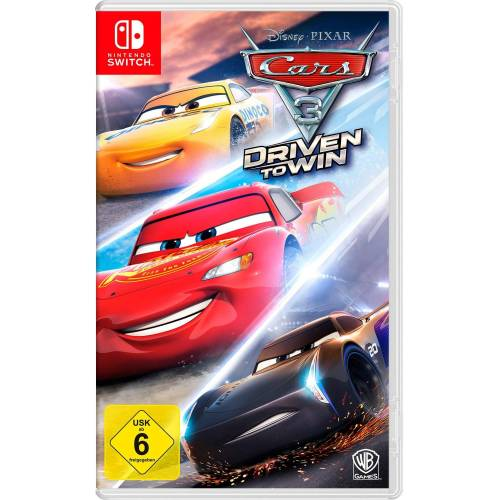 Warner Games CARS 3: Driven to win Nintendo Switch, Software Pyramide