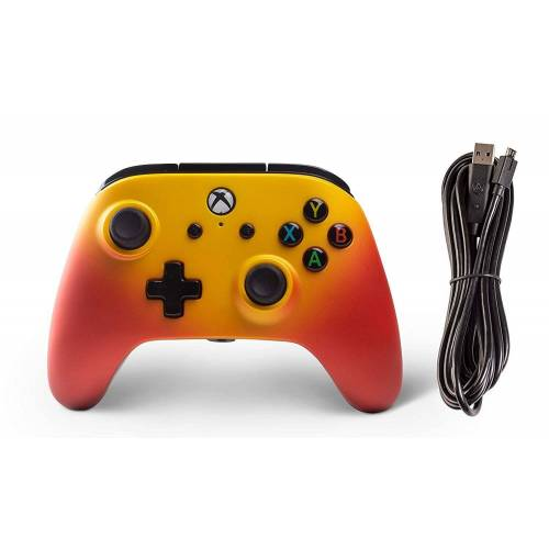 PowerA »Enhanced Wired Controller für XBOX ONE/XBOX X« Xbox One-Controller, Solar Fade
