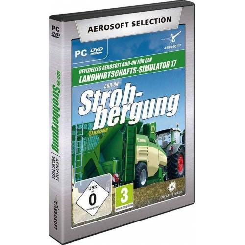 aerosoft Selection - LS17 Add-on Strohbergung PC