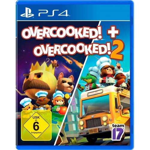 Overcooked! + Overcooked! 2 PlayStation 4